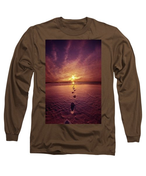 Long Sleeve T-Shirt featuring the photograph It Is Then That I Carried You by Phil Koch