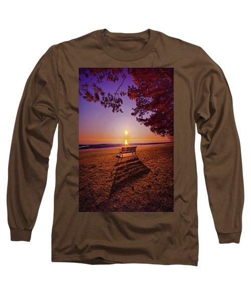 Long Sleeve T-Shirt featuring the photograph It Is Words With You I Seek by Phil Koch