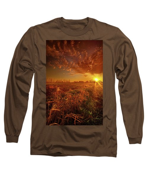 Long Sleeve T-Shirt featuring the photograph It Just Is by Phil Koch