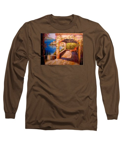 Italian Villa  Long Sleeve T-Shirt