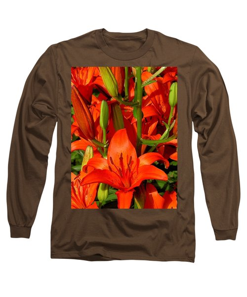 It's All About Red Long Sleeve T-Shirt