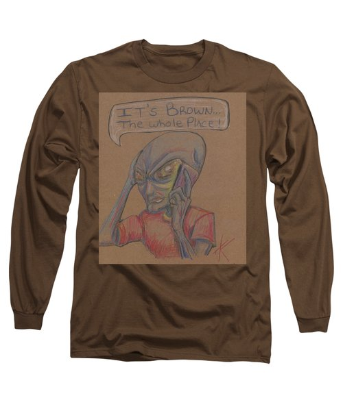 It's Brown Long Sleeve T-Shirt