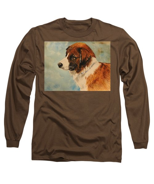 Jake Long Sleeve T-Shirt by Betty-Anne McDonald