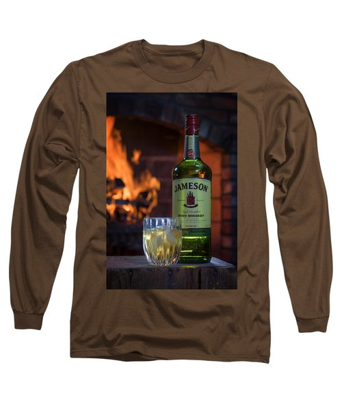 Jameson By The Fire Long Sleeve T-Shirt by Rick Berk
