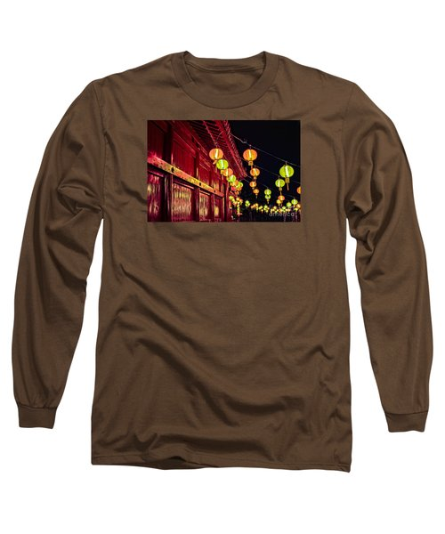 Japanese Lanterns 10 Long Sleeve T-Shirt