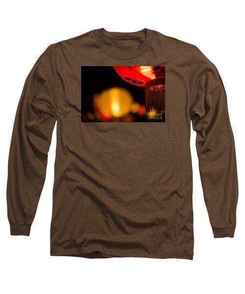 Japanese Lanterns 2 Long Sleeve T-Shirt