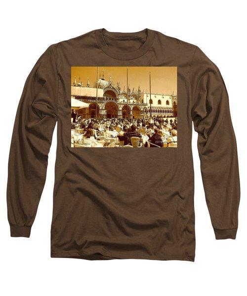 Jazz In Piazza San Marco Long Sleeve T-Shirt