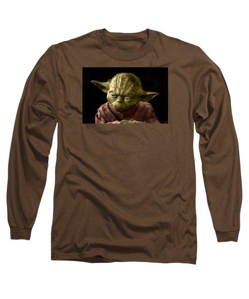 Jedi Yoda Long Sleeve T-Shirt