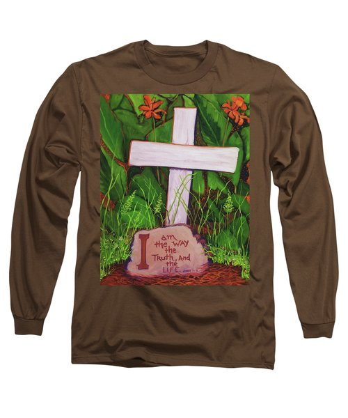 Garden Wisdom, The Way Long Sleeve T-Shirt