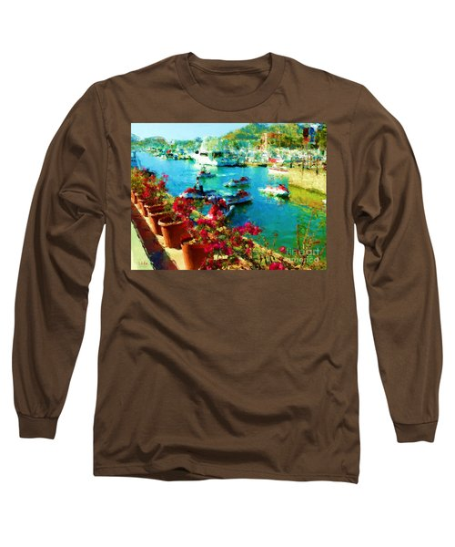 Jet Skis And Flowers Long Sleeve T-Shirt by Gerhardt Isringhaus