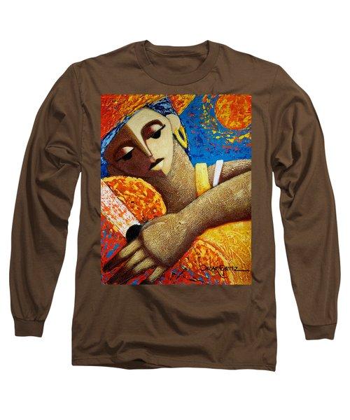 Jibara Y Sol Long Sleeve T-Shirt by Oscar Ortiz