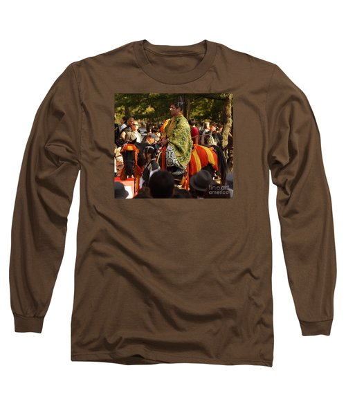 Long Sleeve T-Shirt featuring the photograph Jidai Matsuri Xvi by Cassandra Buckley