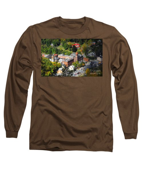 Jim Thorpe Pa Long Sleeve T-Shirt by Cindy Manero