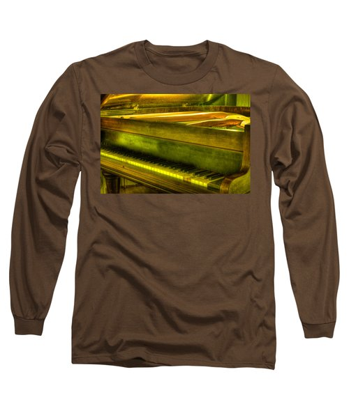 John Broadwood And Sons Piano Long Sleeve T-Shirt by Semmick Photo