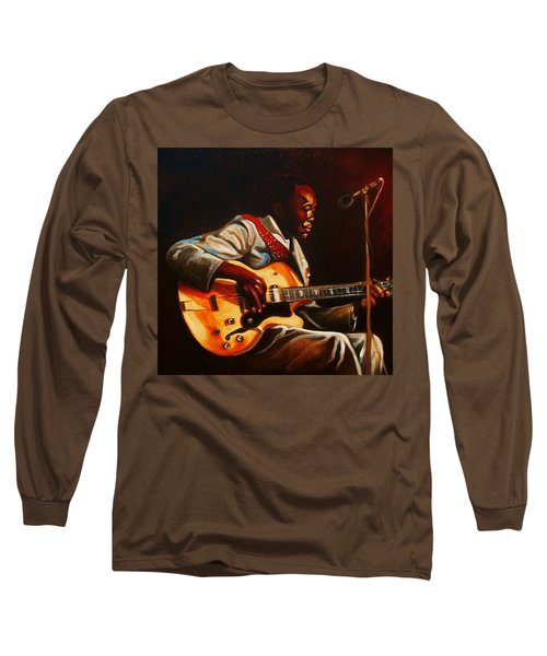 Long Sleeve T-Shirt featuring the painting John Lee by Emery Franklin