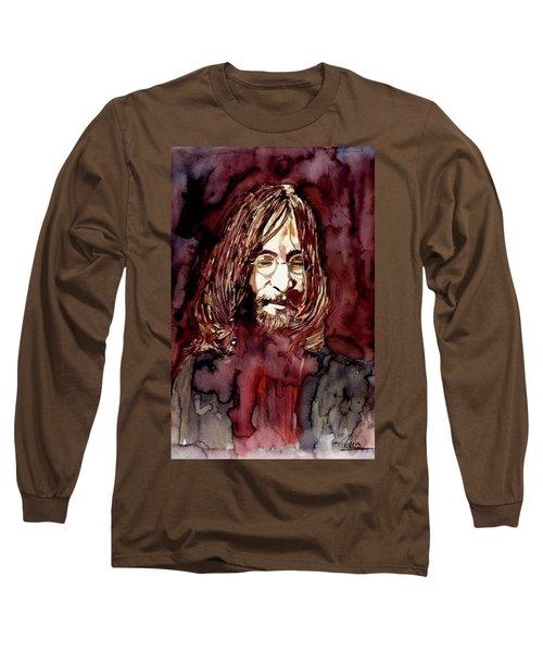 John Lennon Long Sleeve T-Shirt