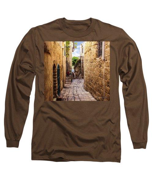 Joppa Israel Passageway Long Sleeve T-Shirt