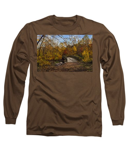 Jordan Park Bridge Long Sleeve T-Shirt by Judy Johnson