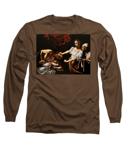 Judith And Holofernes Long Sleeve T-Shirt