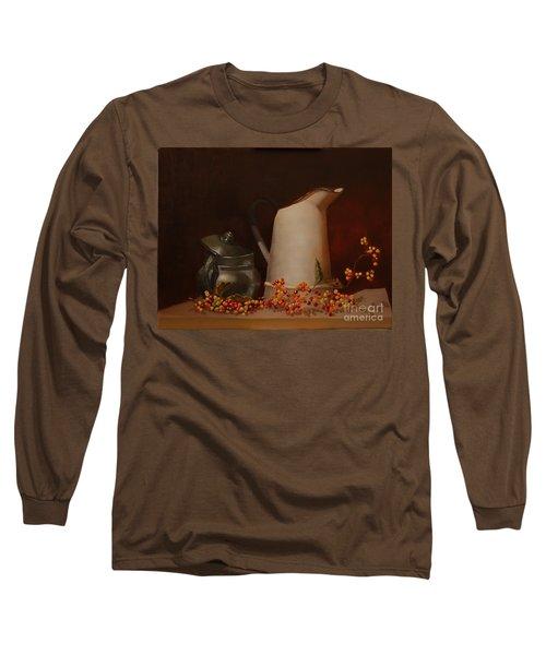 Jugs Long Sleeve T-Shirt by Genevieve Brown
