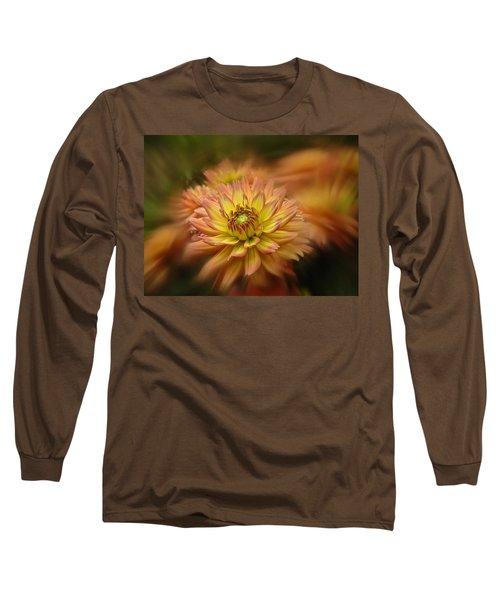 Long Sleeve T-Shirt featuring the photograph Juiy 2016 Dahlia by Richard Cummings