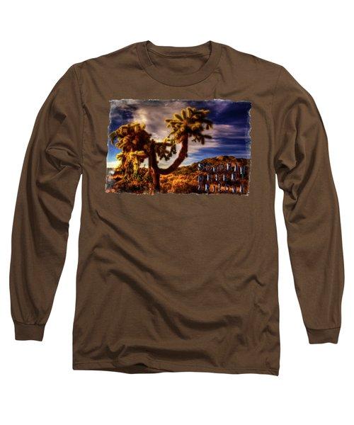 Jumping Cholla Cactus Long Sleeve T-Shirt