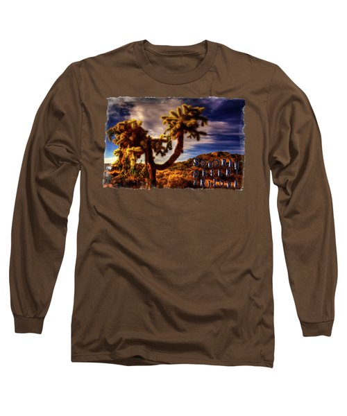 Jumping Cholla Cactus Long Sleeve T-Shirt
