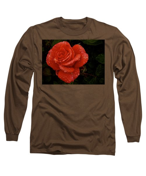 Long Sleeve T-Shirt featuring the photograph June 2016 Rose No. 3 by Richard Cummings