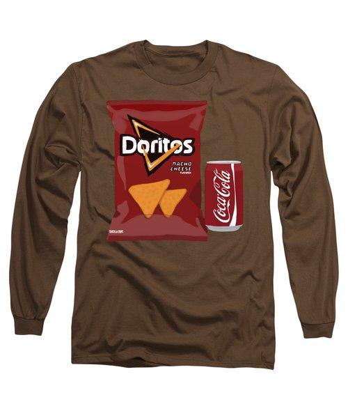 Junk Food Still Life Long Sleeve T-Shirt
