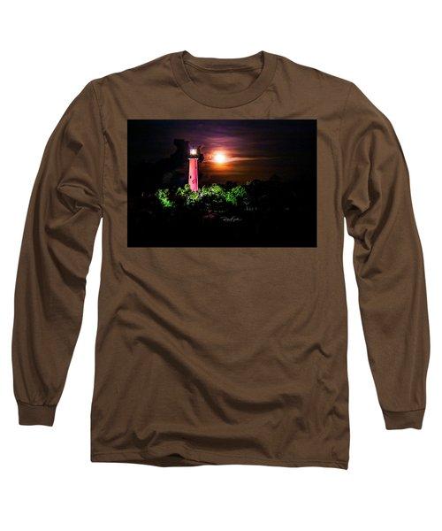 Jupiter Lighthouse Long Sleeve T-Shirt