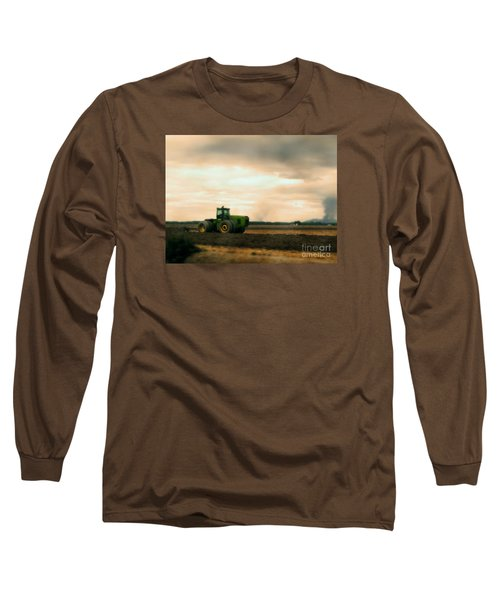 Just A John Deere Memory Long Sleeve T-Shirt by Janie Johnson
