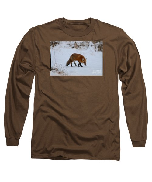 Just Hunting For Breakfast Long Sleeve T-Shirt by Sandra Updyke