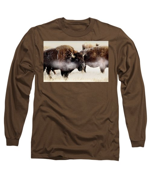 Just One Of The Boys Blowing Off A Little Steam Long Sleeve T-Shirt