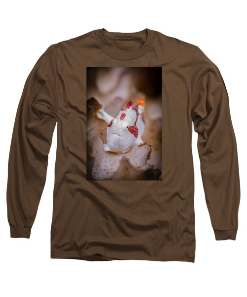 Juvenile Warty Frogfish Long Sleeve T-Shirt