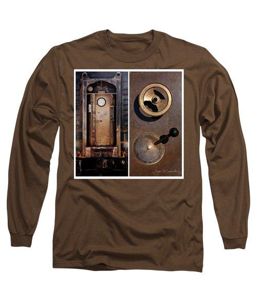 Juxtae #24 Long Sleeve T-Shirt by Joan Ladendorf