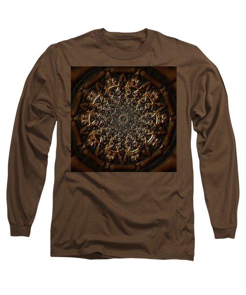 Long Sleeve T-Shirt featuring the digital art Jyoti Ahau 209 by Robert Thalmeier
