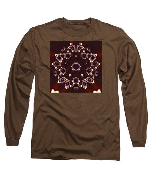 Long Sleeve T-Shirt featuring the digital art Jyoti Ahau 41 by Robert Thalmeier