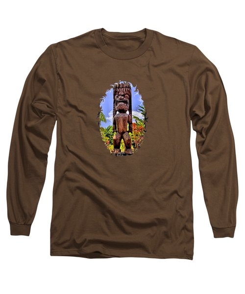 Kaanapali Tiki Long Sleeve T-Shirt