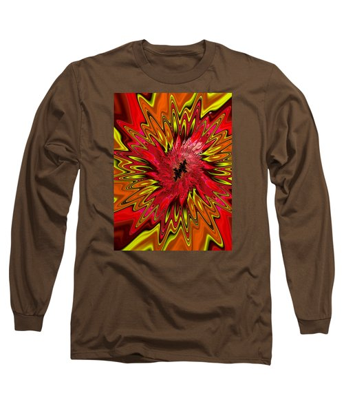 Long Sleeve T-Shirt featuring the photograph Kapowwie by Ronda Broatch
