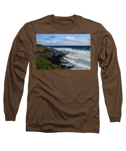 Kauai Shore 1 Long Sleeve T-Shirt