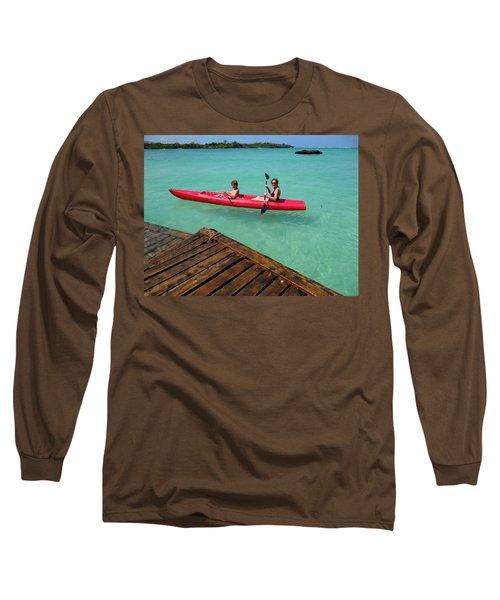 Kayaking Perfection 1 Long Sleeve T-Shirt