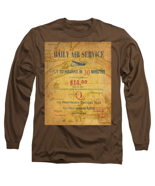 Key West To Havana Long Sleeve T-Shirt