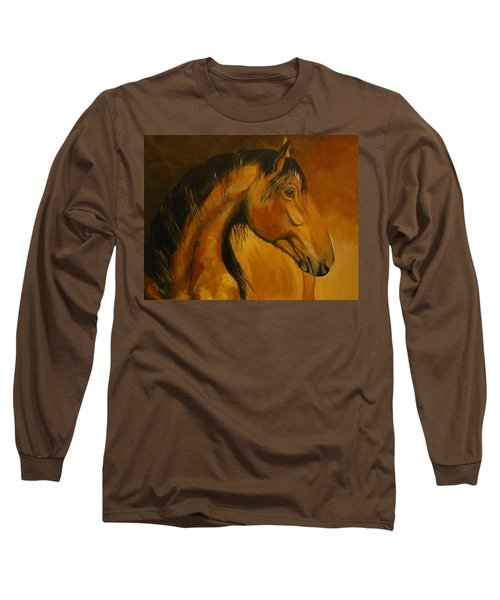 Kiger Sunrise Long Sleeve T-Shirt by Suzanne McKee