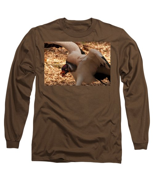 King Vulture 1 Long Sleeve T-Shirt by Chris Flees