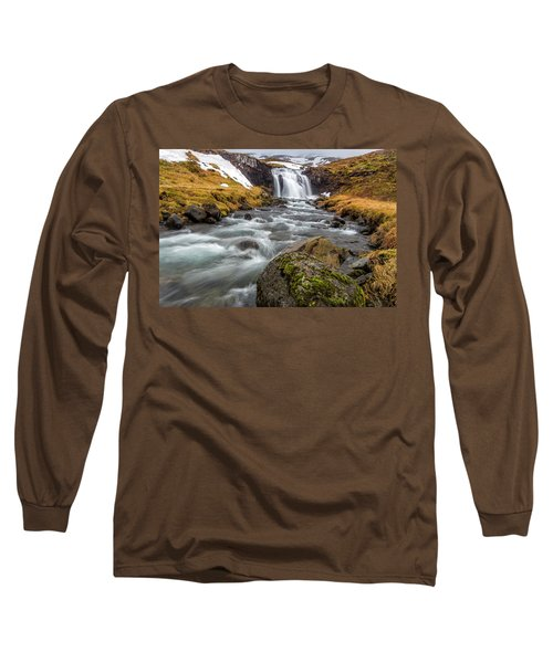Kirkjufellsfoss Sibling  Long Sleeve T-Shirt