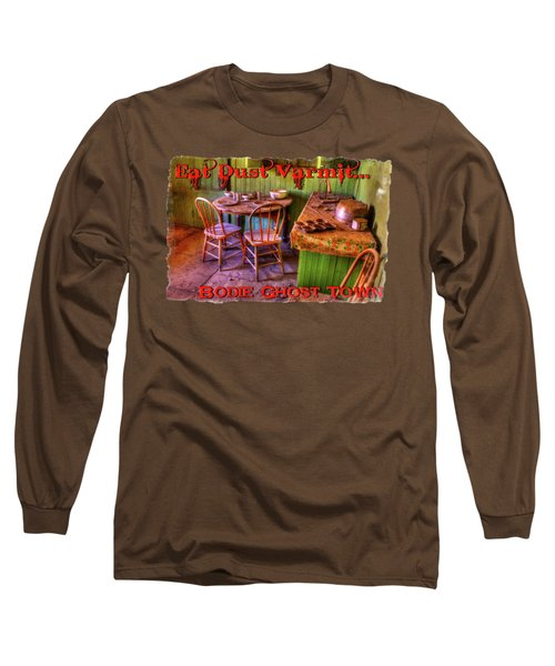 Kitchen Table Bodie California Long Sleeve T-Shirt
