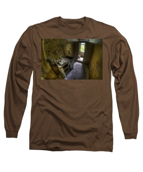 Kitchen With A Loo Long Sleeve T-Shirt by Nathan Wright