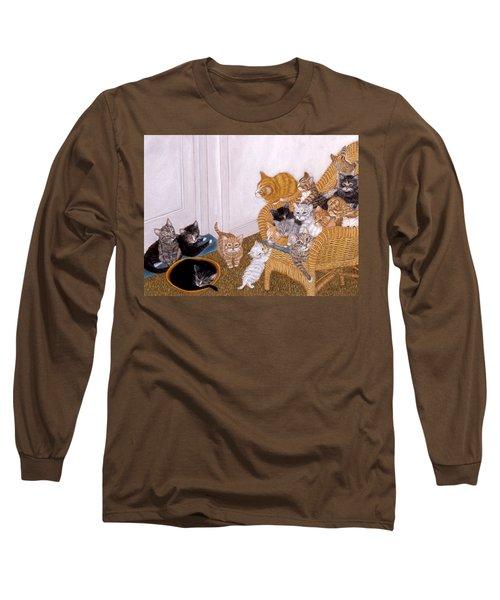Kitty Litter II Long Sleeve T-Shirt