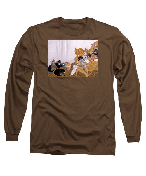 Kitty Litter II Long Sleeve T-Shirt
