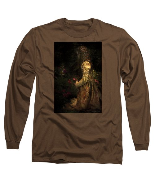 Kneeling In The Garden Long Sleeve T-Shirt